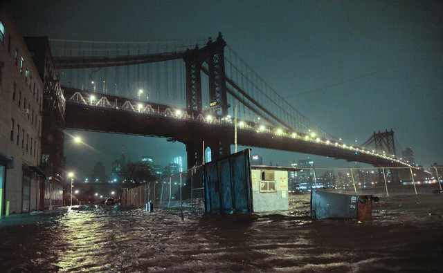 Sandy Floods Lower Manhattan